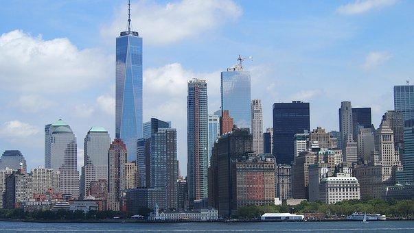 New York Skyline New York City Skyscr