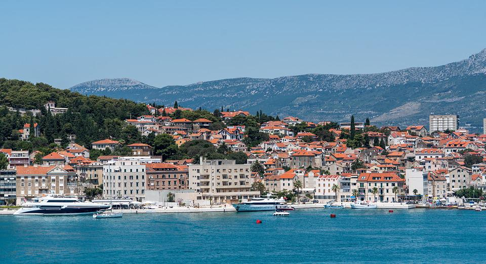 free photo split croatia shore boats   free image on