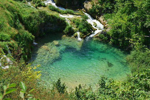 Plitvice, Waterfall, World Heritage