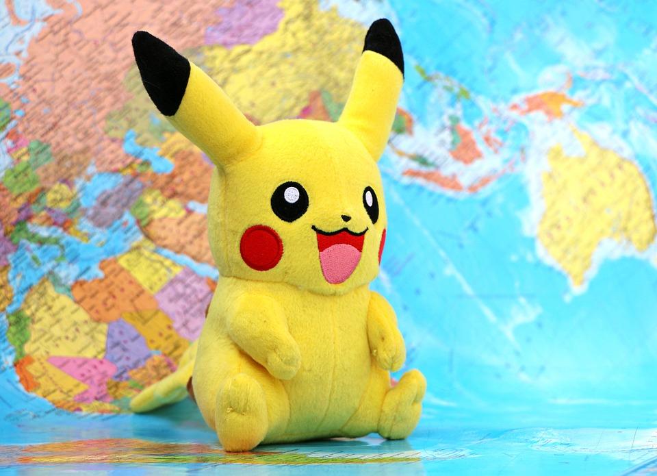 Pokemon, Pikachu, Spiel, Karte, Brett, Gebiet, Manie