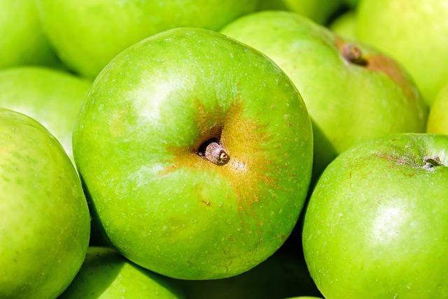 free photo  apple  fruit  fruits  green