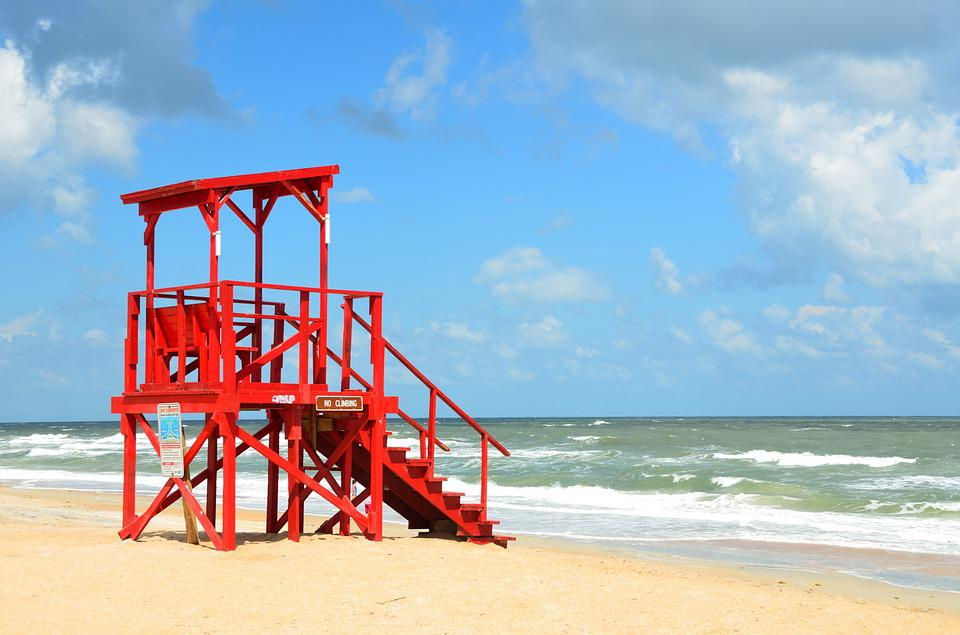 Empty Life Guard Stand 183 Free Photo On Pixabay
