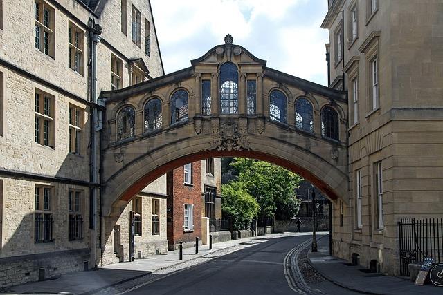 free photo  bridge of sighs  oxford  england