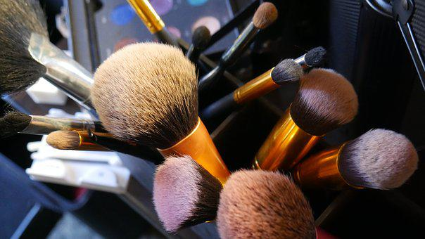 Makeup, Brushes, Cosmetic, Professional