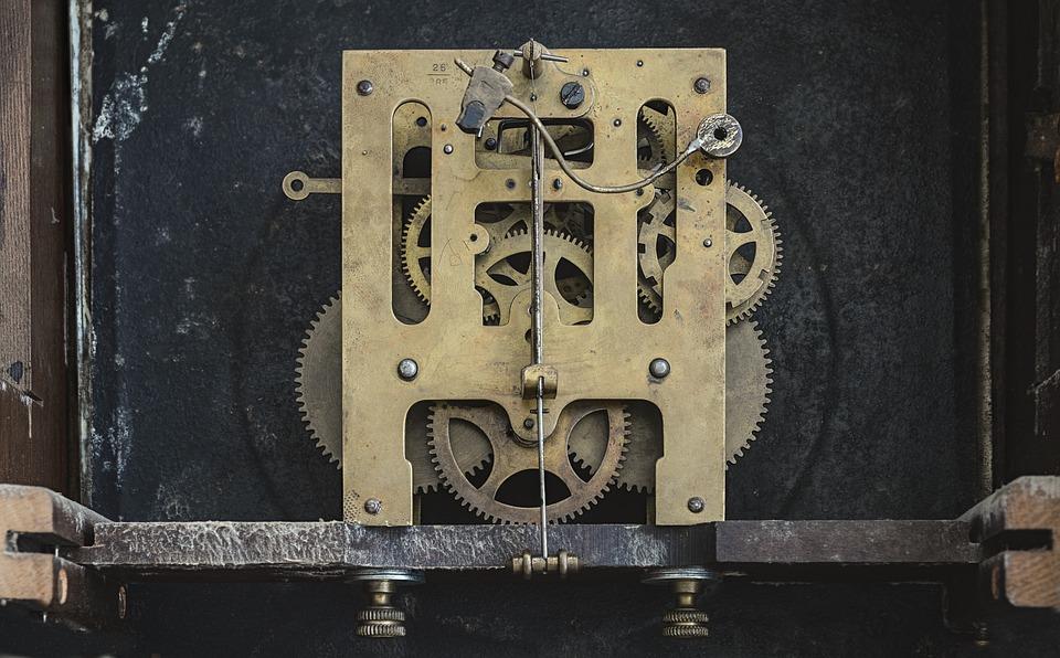 Clock Gears Inside 183 Free Photo On Pixabay