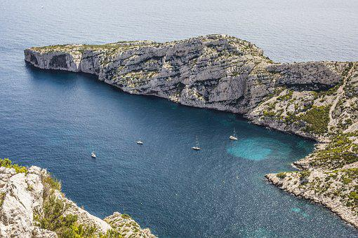 Marseille, Calanques, Provence, Mer