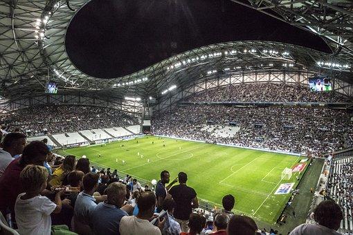 Stadium, Velodrome, Football, Marseille