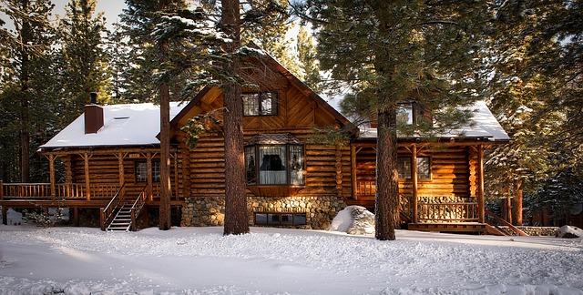 free photo log cabin house home rural free image on pixabay 1594361