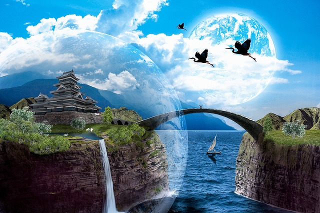 Free Illustration Dream Landscape Fantasy Free Image