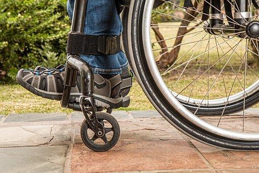 Wheelchair Disability Paraplegic Injured D