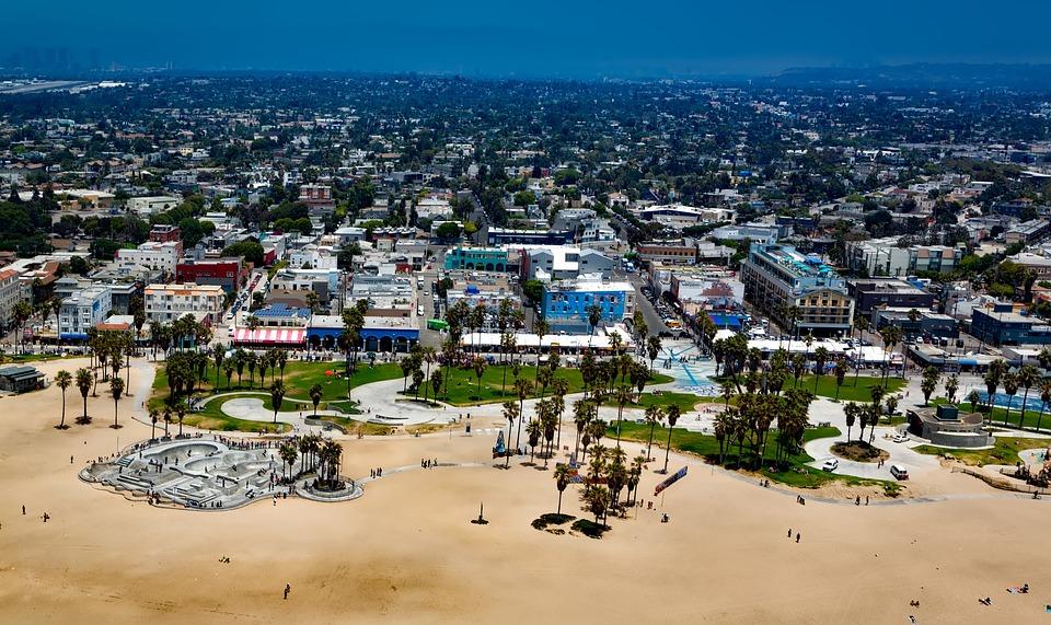venice beach los angeles california sand vacation