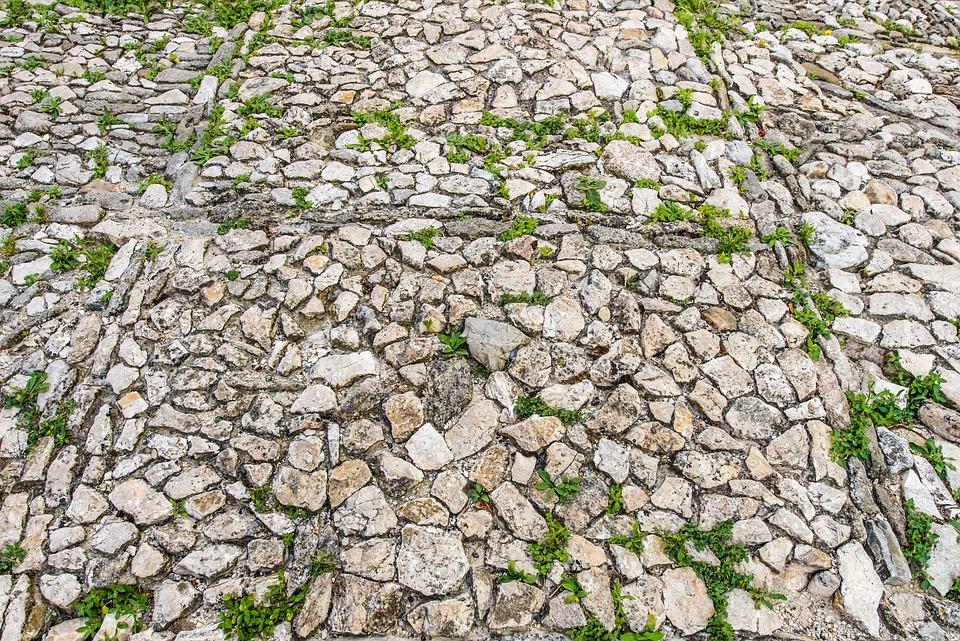 Suelo de piedras crear un suelo de piedras en modo for Pavimento piedra natural