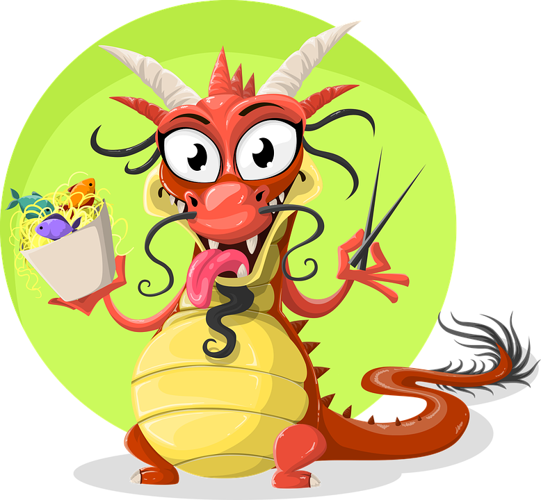 Dragon Chinese · Free vector graphic on Pixabay