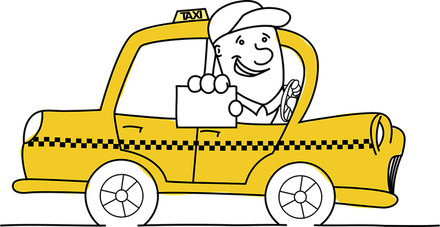 Free vector graphic: Taxi, Driver, Business Card, Card ...