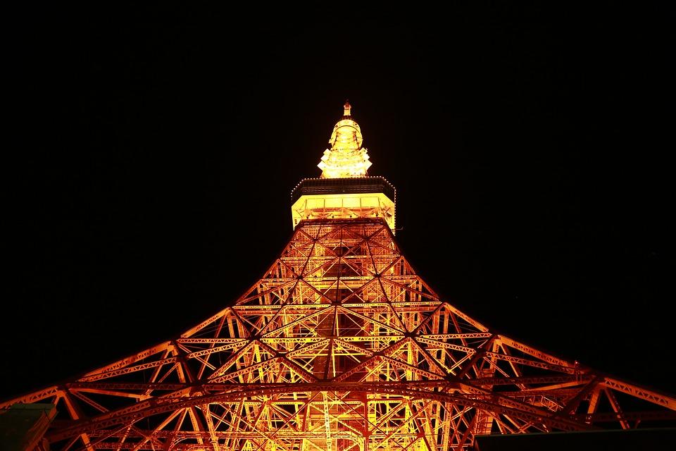 トラベル, サイン, 東京タワー, 日本