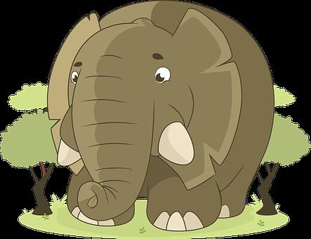 Elephant, Animal, Jungle, Savannah