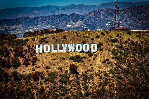 Hollywood Sign Iconic Mountains Los Angele