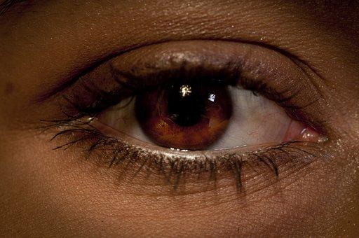 Eye Eyeball Close Up Vision Eyesight Human