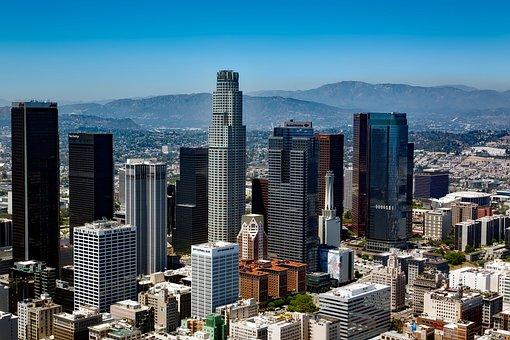 Panorámica de Los Ángeles, California