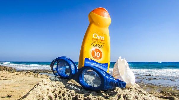 Summer, Vacations, Holidays, Sun Lotion, Sun Screen, Sun Block