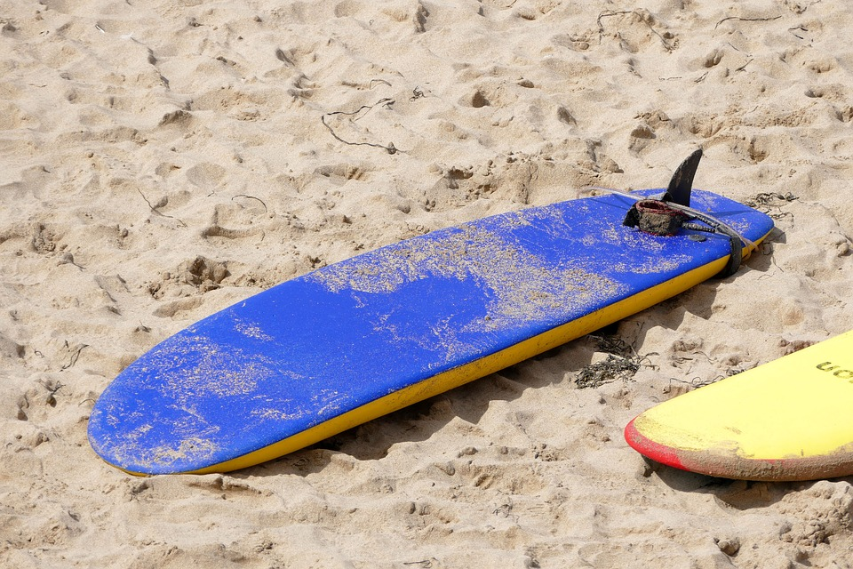 beach surf board free photo on pixabay