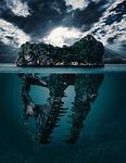 mystery, island, secret