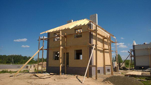 Construction, House, New House, Housing