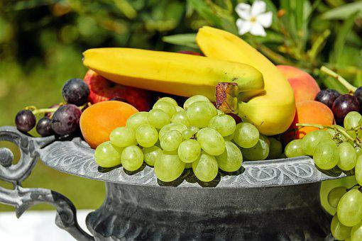 Fruit Bowl Shell Fruit Fruits Vitamins Fre