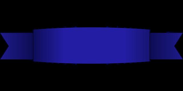 Ribbon Banner Blue · Free vector graphic on Pixabay  Ribbon Banner B...