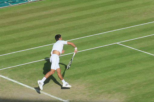 Novak Jokovic, Mens Tennis, Wimbledon