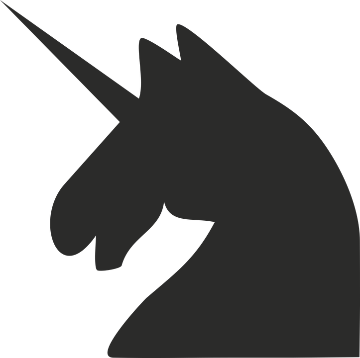 Unicorn Horse Minimalist Free Vector Graphic On Pixabay