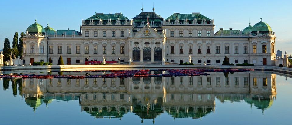 Belvedere, Castillo, Barroco, Viena, Alto Belvedere