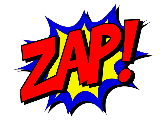Free Illustration: Zap, Comic, Comic Book, Fight