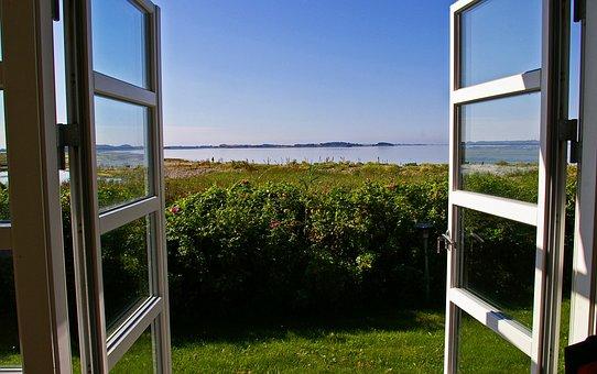 Vue, Fenêtre, Outlook, Nature, Ciel