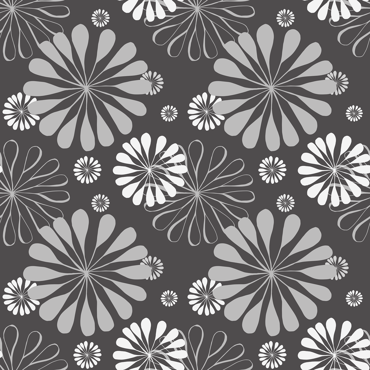 Floral Pattern Background Free Vector Graphic On Pixabay