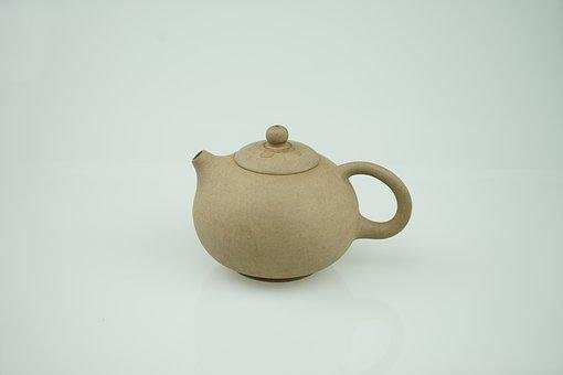 茶壺, ティー, ウーロン茶, ティーポット, クレイ