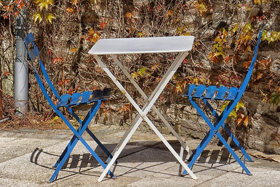Table Chaise Caf Terrasse Bar Restaurant