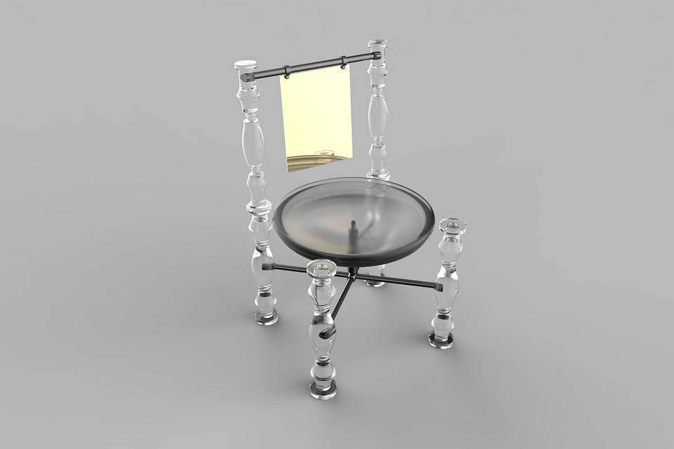 Futuristic Chair Interior Design 3d Transparent