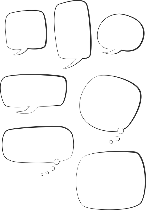 Free vector graphic: Speech Bubble, Text Box Free Image