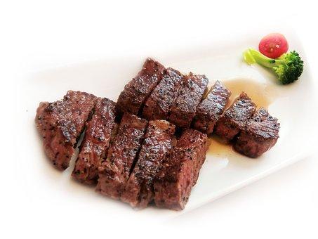 Beef Ribs, Steak, Beef, Wine Duck Breast