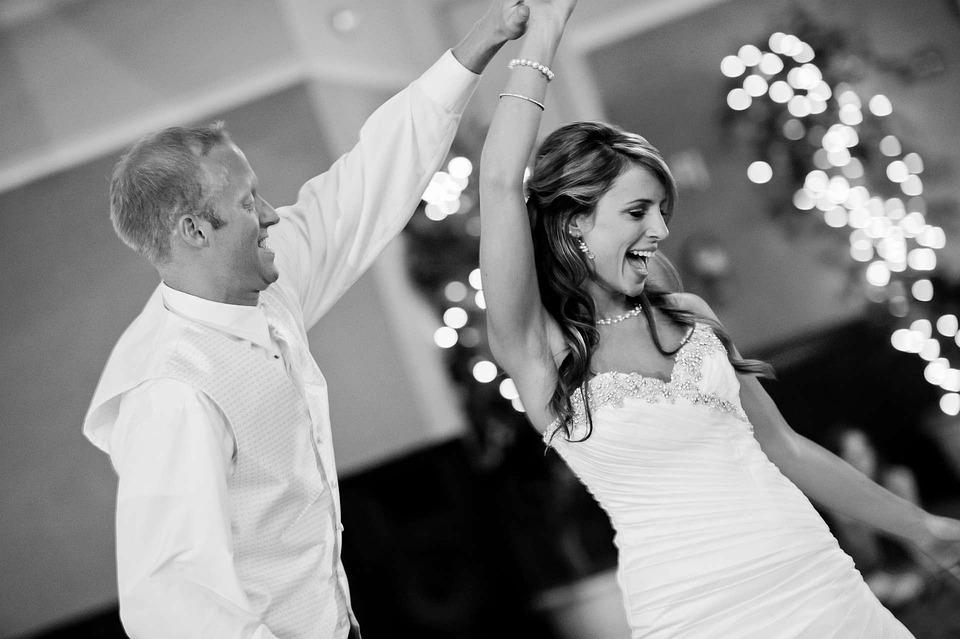 Esküvő, Ünneplés, Dance, Menyasszony, Vőlegény