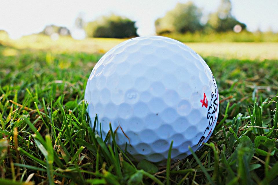 ゴルフ ・ ボール, ゴルフ, ゴルフ コース, スポーツ, 草