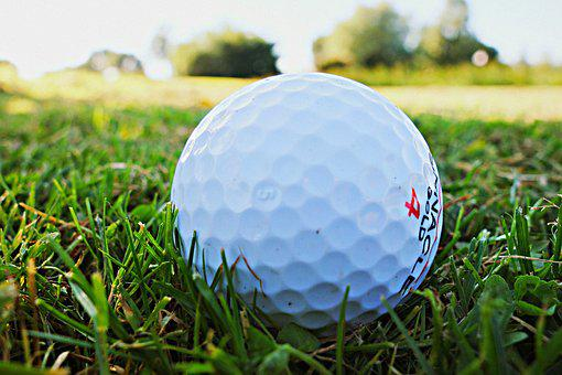 Golf Ball, Golf, Golfing, Golf Course