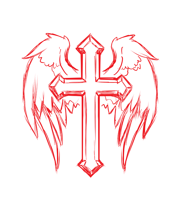 Cross Wings Tattoo Free Image On Pixabay