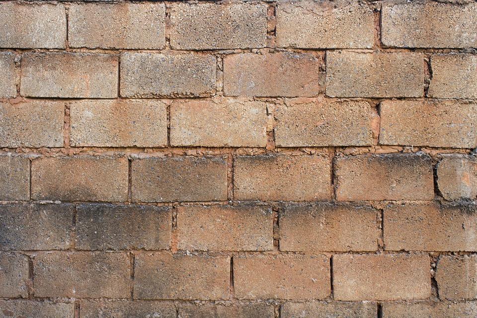 Bricks Wall Exterior Texture Home Structure