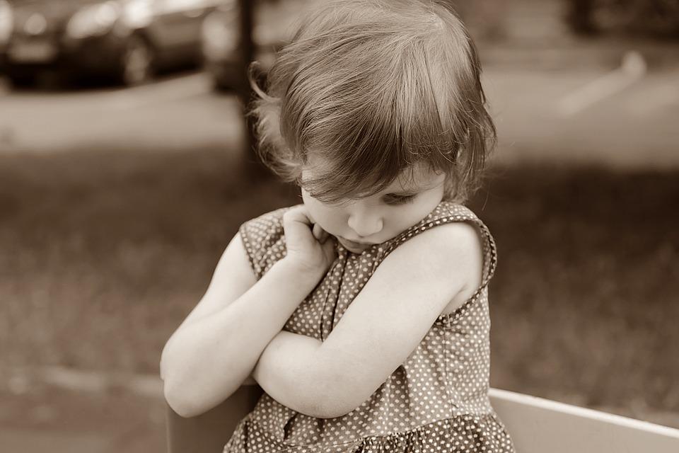 Дете, Момиче, Срамежлив, Емоции, Скри, Игрище, Русия