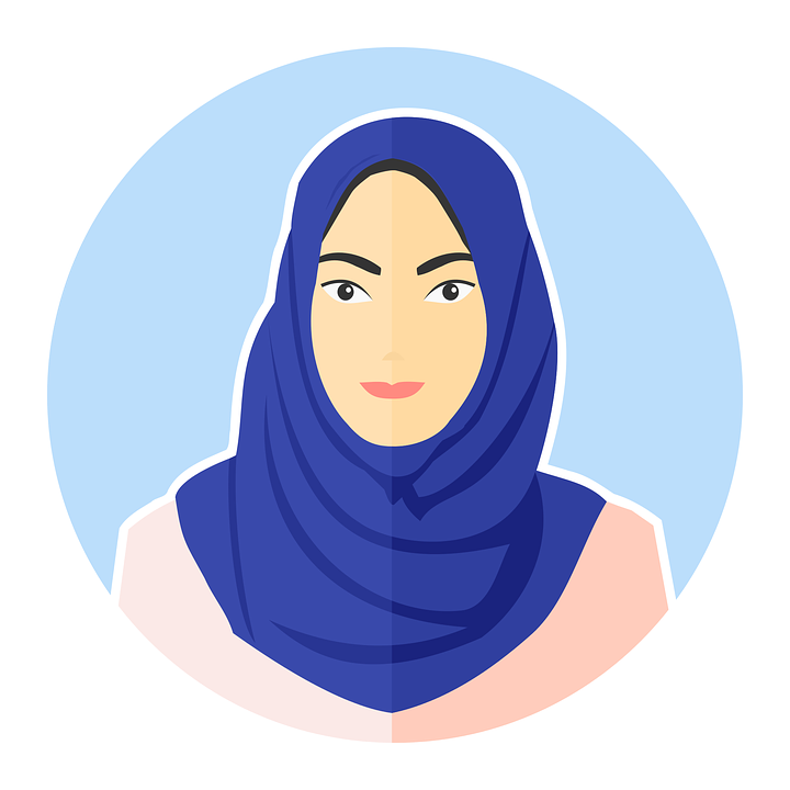 Free vector graphic Avatar Female Girl Hijab Young Free