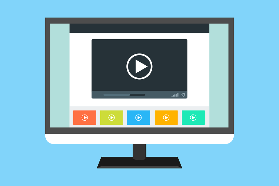 Video Template Website Free Vector Graphic On Pixabay