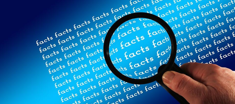 Sannhet finner du først og fremst ved å se på faktaene i saken.