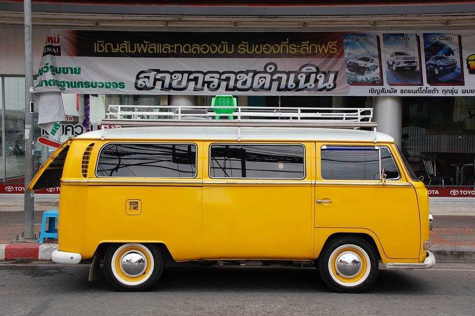 kostenloses foto vw bulli t1 t2 gelb volkswagen. Black Bedroom Furniture Sets. Home Design Ideas